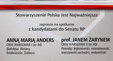 Spotkanie z prof. Janem Żarynem i Anną Marią Anders