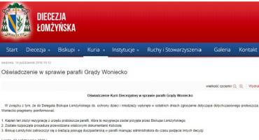 Nagła rezygnacja proboszcza parafii Grądy-Woniecko