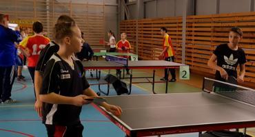 Rozegrano Powiatowe Igrzyska Dzieci w tenisie stołowym