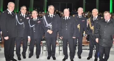 Zambrowska delegacja na krajowych uroczystościach strażackich