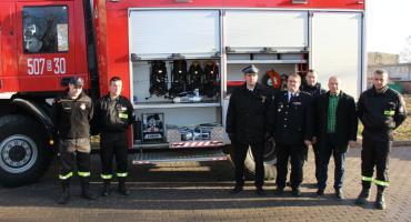 Strażacki sprzęt z Funduszu Sprawiedliwości trafił do trzech ochotniczych jednostek