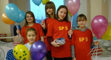 Wolontariuszki z SP5 na oddziale dziecięcym w zambrowskim szpitalu