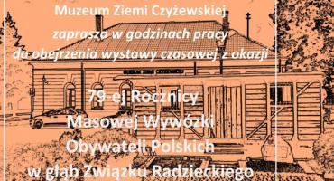 Wystawa z okazji 79. rocznicy wywózki na Sybir