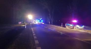 Dwie osoby nie żyją, jedna trafiła do szpitala. DK66 zablokowana [aktualizacja]