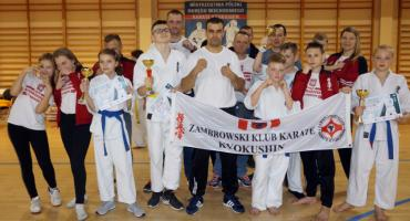 4 medale karateków ZKKK na Mistrzostwach Polski Okręgu Wschodniego