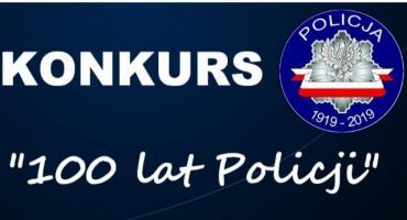 Konkurs na 100-lecie policji