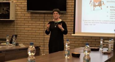 Agnieszka Krasinkiewicz opowiedziała o trudnej sztuce wystąpień publicznych [foto]