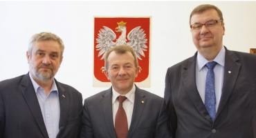 Pochodzący z Rutek - dr Bogdan Konopka został dziś Głównym Lekarzem Weterynarii
