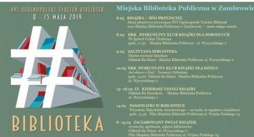 XVI Ogólnopolski Tydzień Bibliotek w Miejskiej Bibliotece Publicznej w Zambrowie