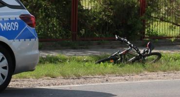 12-letni rowerzysta potrącony na AWP [foto]