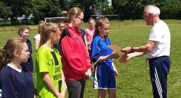 Rozegrano Powiatowe Mistrzostwa LZS w Piłce Nożnej Dziewcząt