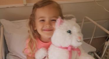 3,5-letnia Hania walczy z ostrą białaczką limfoblastyczną. Pomóżmy