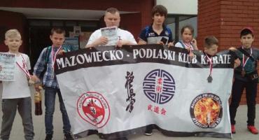 7 medali przywieźli karatecy z Mazowiecko-Podlaskiego Klubu Karate