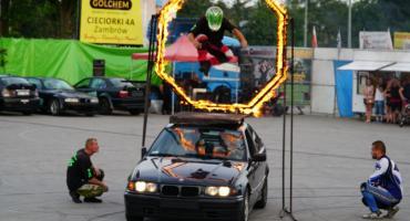 Kaskaderzy dali pokaz jazdy ekstremalnej [foto]
