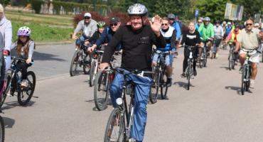 Rowerzyści wybrali się do Szumowa [foto]