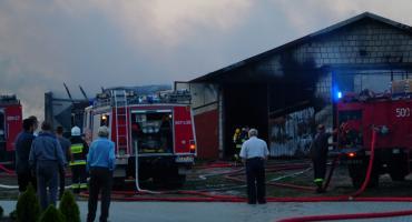 Ogromne straty po wczorajszym pożarze