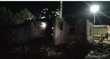 W Woli Zambrowskiej spłonął dom [foto]