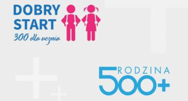 500+ i 300+ w Zambrowie: wpłynęła prawie połowa wniosków