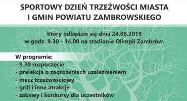 Stowarzyszenie Abstynenta OSTOJA zaprasza na obchody Dnia Trzeźwości