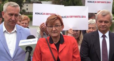 Konferencja prasowa Doroty Sasinowskiej - kandydatki na posła do Sejmu RP [video]
