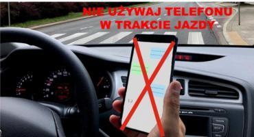 Używasz telefonu podczas jazdy? Uważaj!