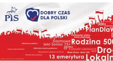 Kandydaci Prawa i Sprawiedliwości - Andrzej Mioduszewski i Marek Adam Komorowski - zapraszają na konwencję wyborczą
