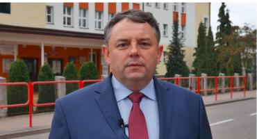 Andrzej Mioduszewski dziękuje wyborcom