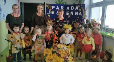 Jesienny Pokaz Mody na przedszkolnym wybiegu