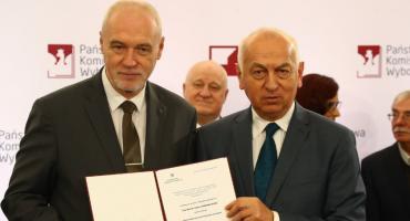 Marek Adam Komorowski odebrał zaświadczenie o wyborze na senatora