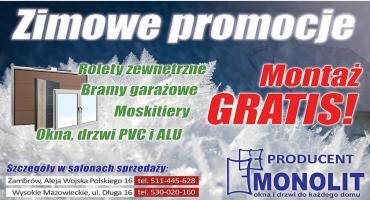 Zimowe promocje w Salonach Monolit!