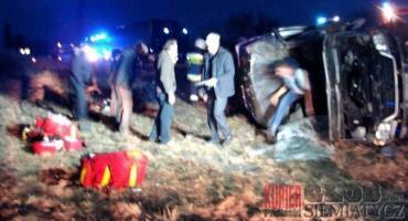 Franopol - Wypadek. 6 osób rannych