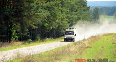 Moszczona Królewska - Pijany traktorzysta sprawcą wypadku