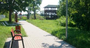 Bulwary nad Narewką - Nowe miejsce wypoczynkowe w Białowieży