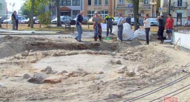 Sensacja archeologiczna w Łosicach  Odkryto ruiny z XVI wieku
