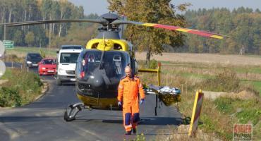 Rowerzysta potrącony w Dołubowie