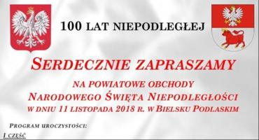 Obchody Święta Niepodległości w Bielsku Podlaskim