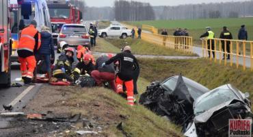 Wypadek na drodze Siemiatycze - Ciechanowiec. Troje dzieci w szpitalach