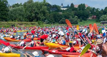 VII edycja 500 kajaków  – największy spływ kajakowy na Bugu, Podlasiu, w Polsce