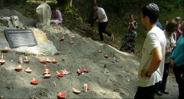 Pomnik ku pamięci białowieskich Żydów