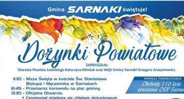 Dożynki Powiatowe w Sarnakach