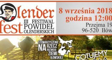 Olenderfest 3 Festiwal Powideł Olenderskich już 8 września