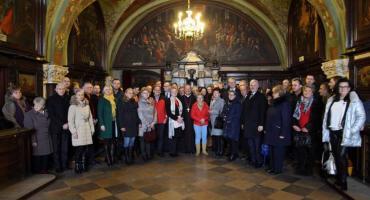 Msza Święta z Samorządowcami Powiatu wołomińskiego na Jasnej Górze