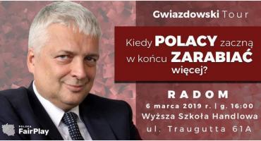 Robert Gwiazdowski w Radomiu [ZAPROSZENIE]