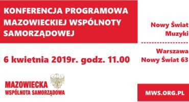 6 kwietnia Konferencja Programowa MWS [ZAPROSZENIE]
