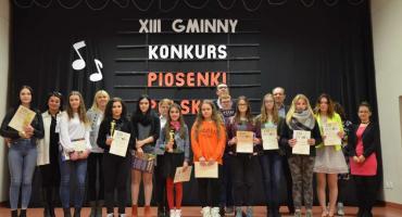 XIII Gminny Konkurs Piosenki Polskiej