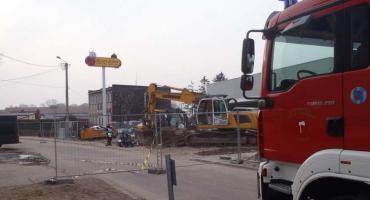 Uszkodzono rurę z gazem w Krajence