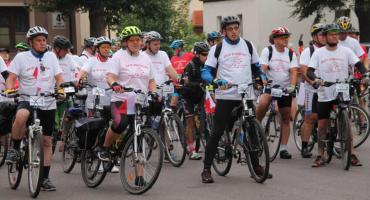 Wystartował Rajd rowerowy - 100 km na 100-lecie Niepodległej Polski