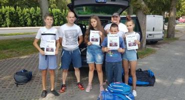 Młodzież z sekcji bokserskiej Sparty Złotów na zgrupowaniu sportowym w Grudziądzu