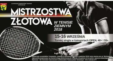 Zaproszenie na Mistrzostwa Złotowa w tenisie ziemnym