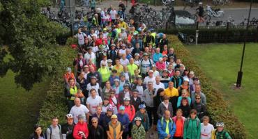 Złotowska grupa wyruszyła na trasę Leśnego Rajdu Rowerowego